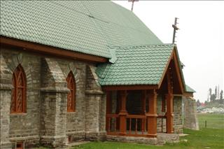 St Mary's Church in Gulmarg